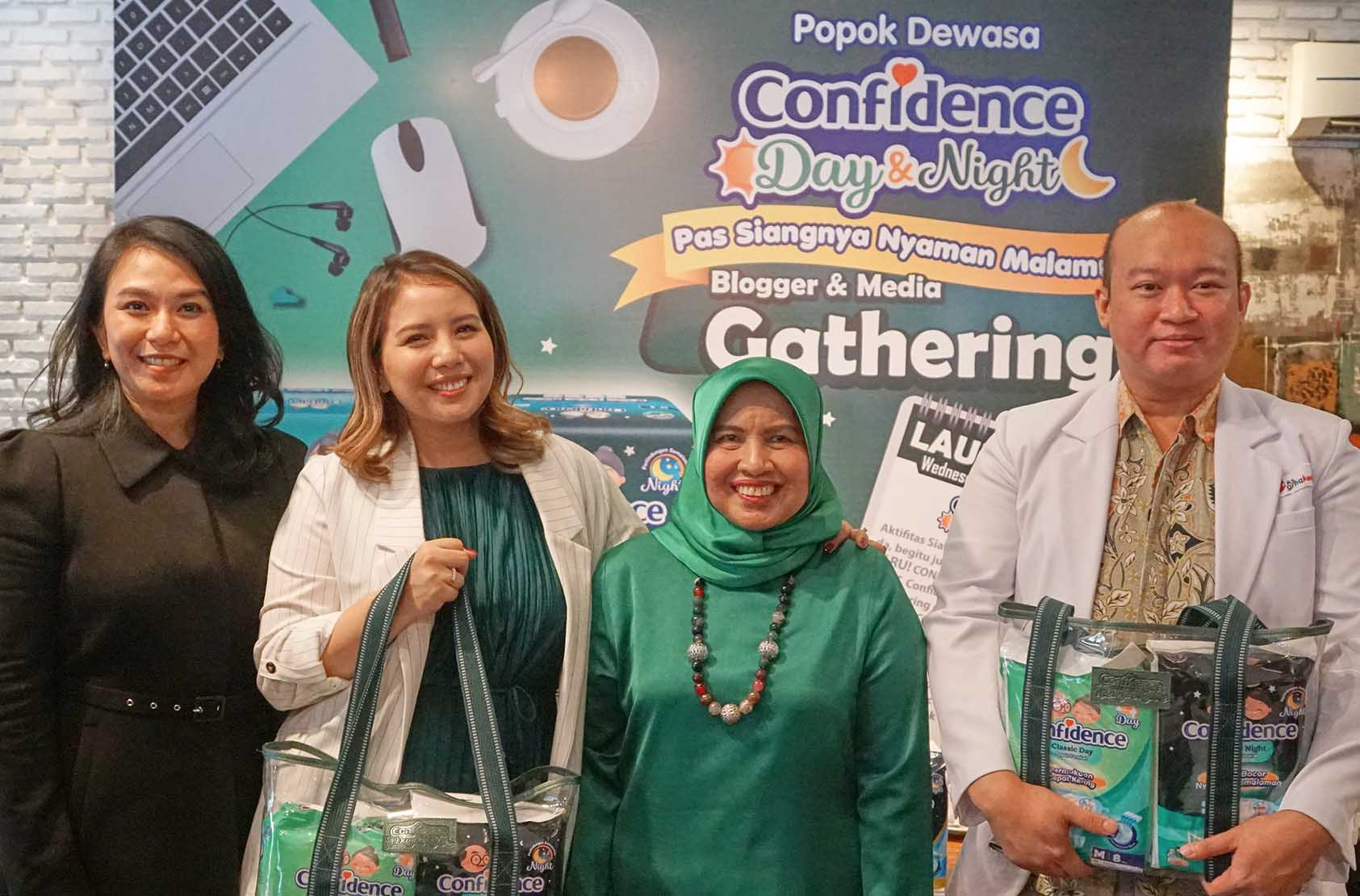 LAUNCHING CONFIDENCE DAY & NIGHT