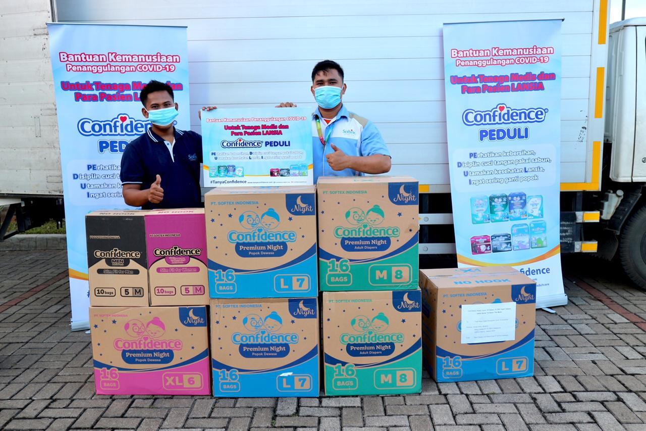 Confidence Donasikan 10 Ribu Popok Dewasa untuk Tangani Covid-19